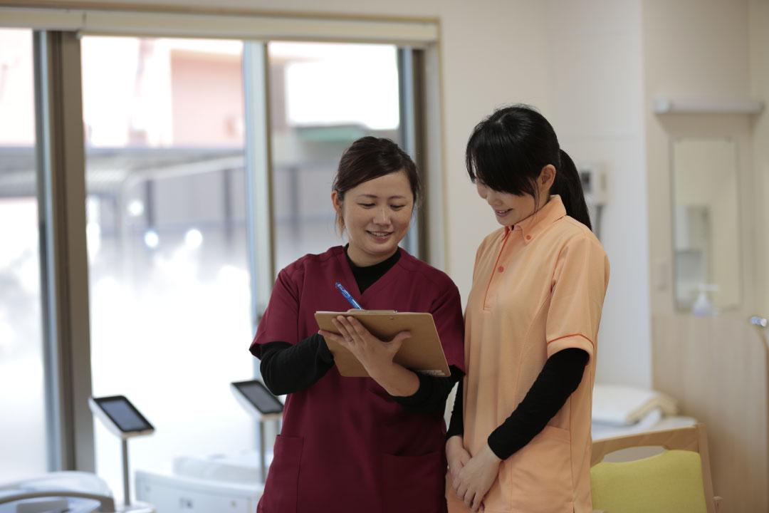 看護師による健康管理