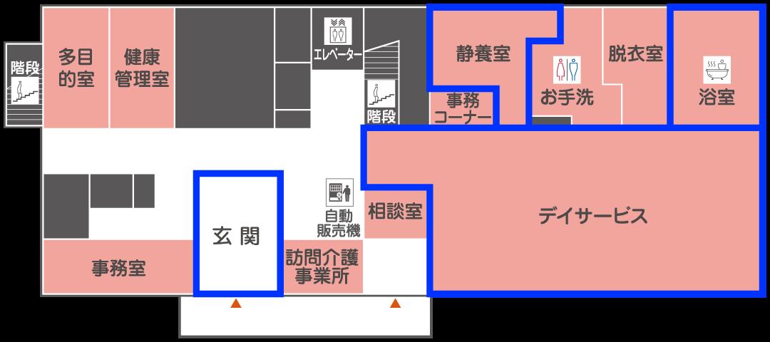 1階 見取り図